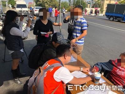 韓流攤販證件不全遭擋怒嗆:要輸贏嗎?