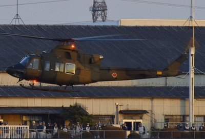 日本首架UH-X原型機交付陸上自衛隊