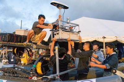 無人駕駛船國際賽 交大獲第五名