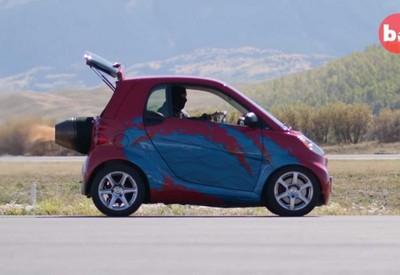 史上最快Smart 極速飆上350km/h