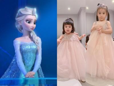 咘咘想當Elsa公主 逼BO妞當安娜