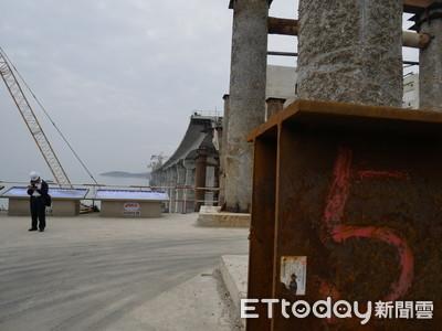 平潭公鐵跨海橋完成95%