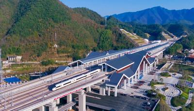 寧波直達千島湖、黃山高鐵4月開通