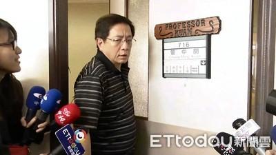 管中閔上任 陳師孟批台大也是國民黨開的