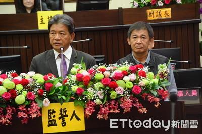 台南市議會宣誓就職 黃偉哲觀禮