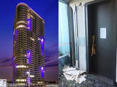 雪梨新大樓牆身裂 內部照片曝光