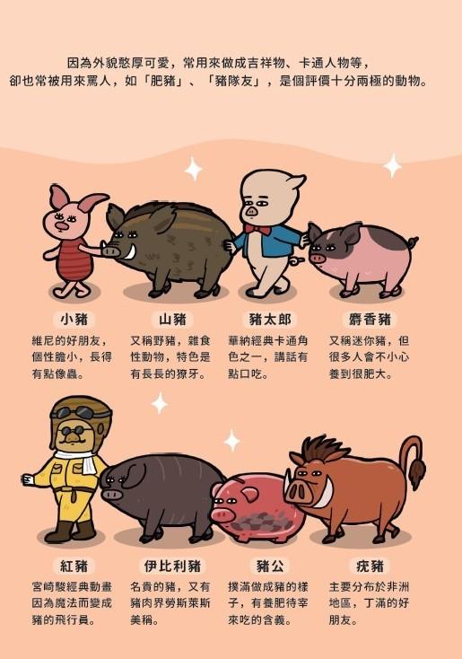 ▲豬肉小知識(圖/四塊玉文創提供,請勿隨意翻拍,以免侵權。)