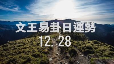 文王易卦【1228日運勢】求卦解先機