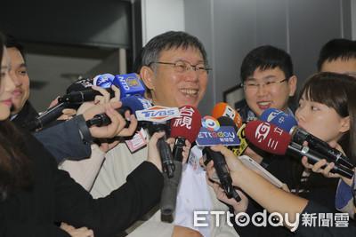 陳思宇打藍踢綠 柯P:選舉就罵來罵去