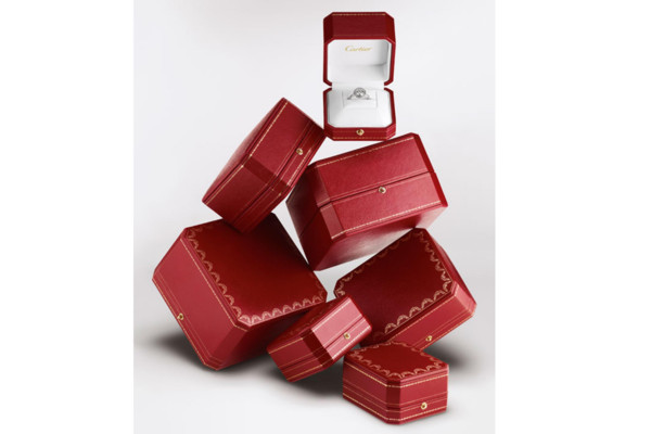 ▲Cartier紅盒子。(圖/翻攝Pinterest、Cartier IG)