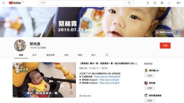 ▲蔡桃貴。(圖/翻攝自蔡桃貴IG、YouTube)