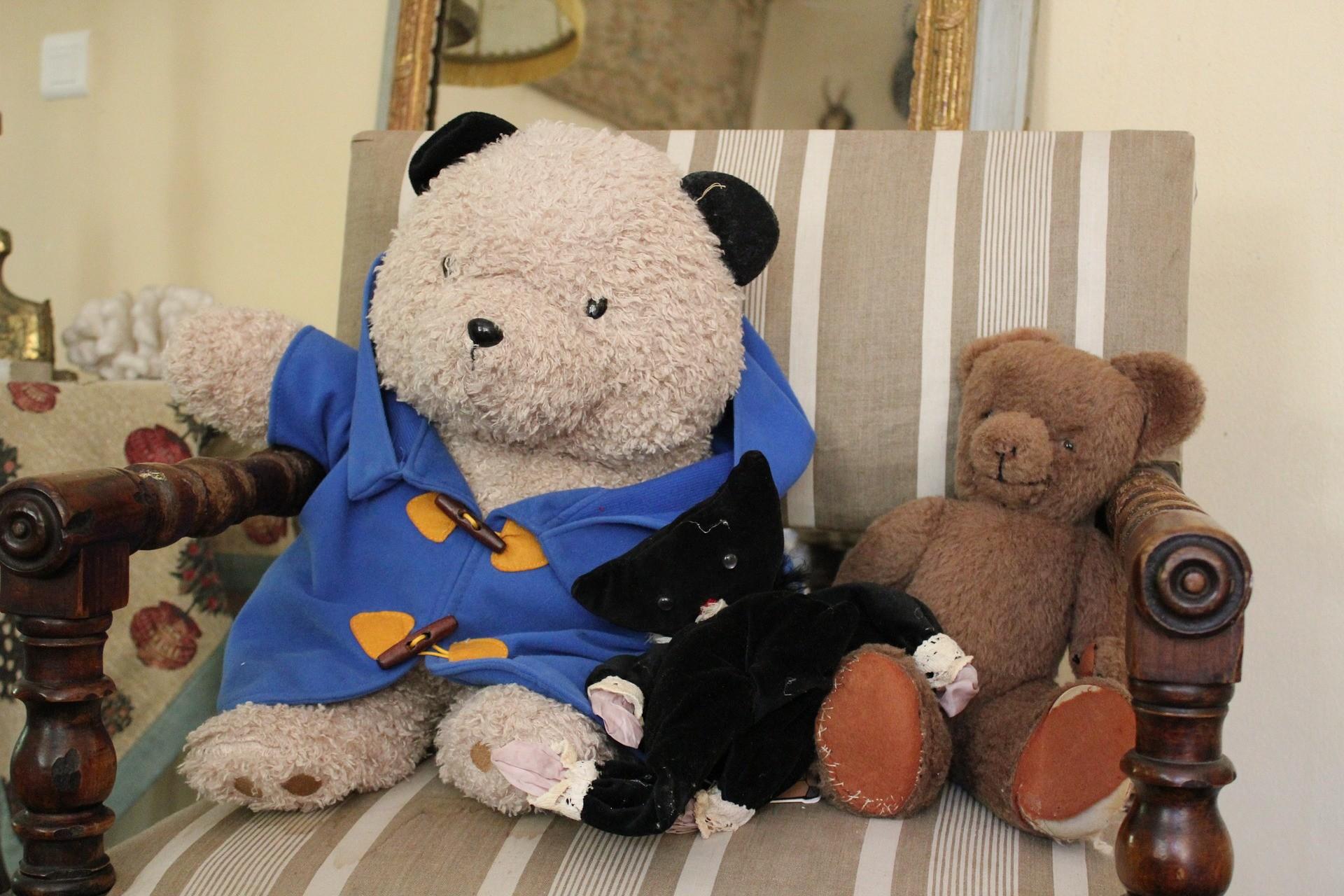 ▲小熊玩偶。(示意圖/取自免費圖庫pixabay)
