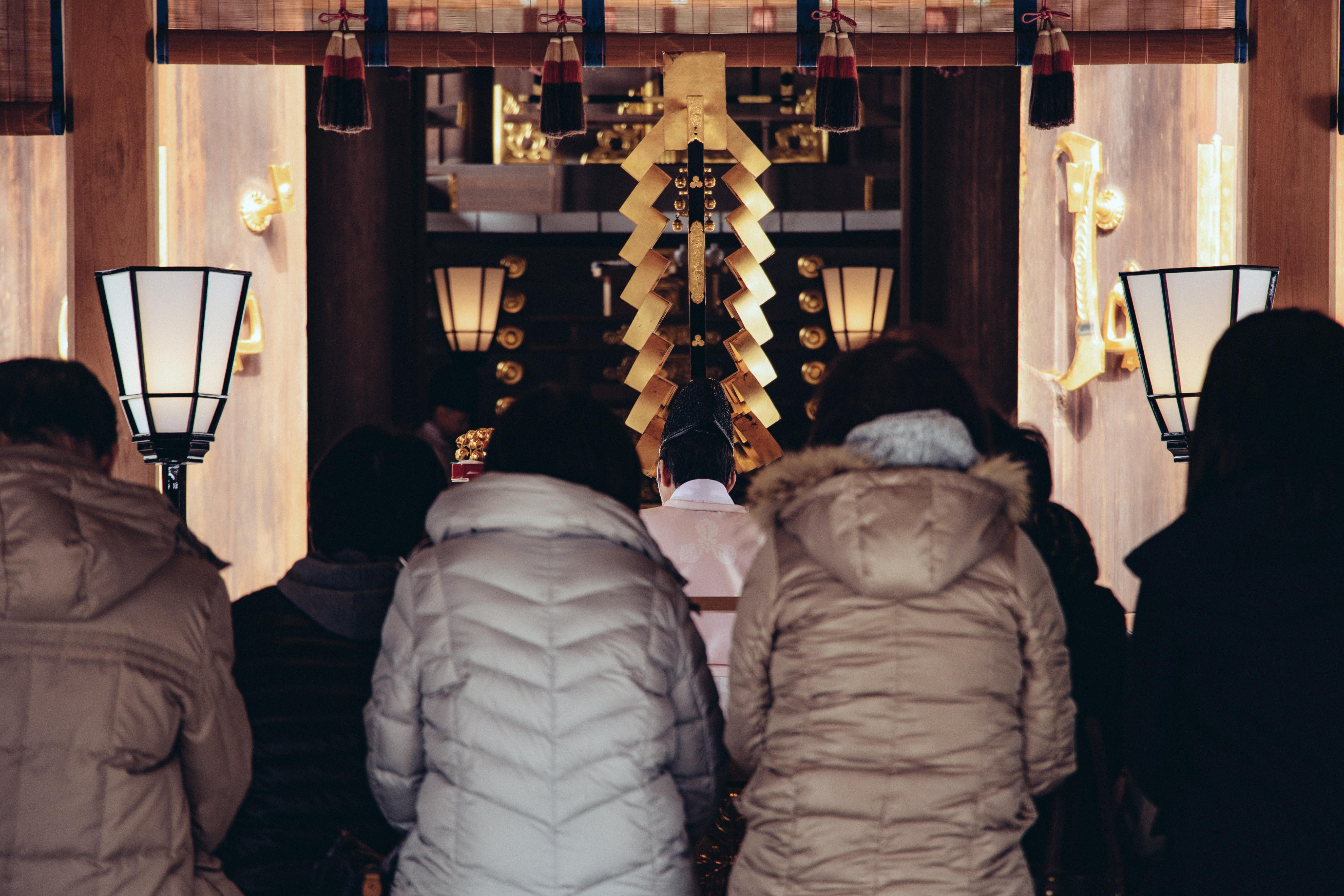 ▲▼日本人過年會到寺廟祈福。(圖/取自免費圖庫pakutaso)