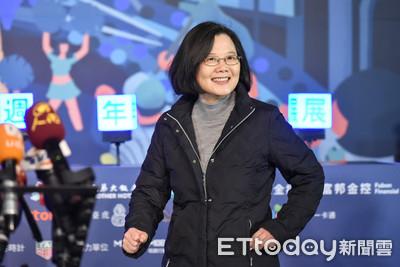 蔡英文九合一敗選後 首度為何志偉站台