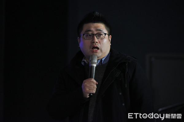 ▲▼總統府發言人林鶴明。(圖/記者林敬旻攝)