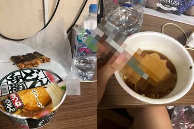 沒筷子吃泡麵!網推這支「變形神器」