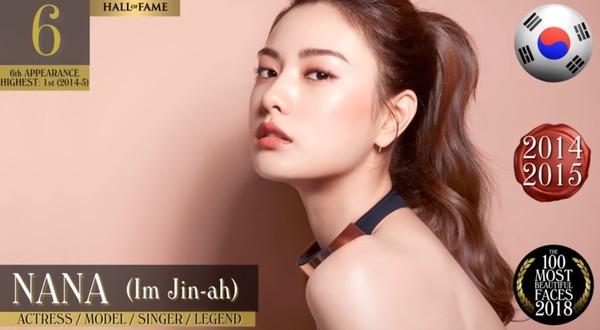 ▲南韓第一美女是NANA。(圖/翻攝自YouTube/TC Candler)