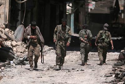 敘政府軍進駐北方古城曼比季