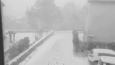 南韓急凍零下19.6度 濟州島暴雪狂飛