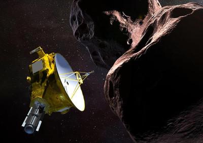 新視野號飛掠「終極遠境」傳訊號回來