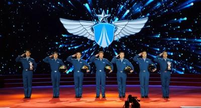 中國空軍王牌旅長帶出6個金頭盔
