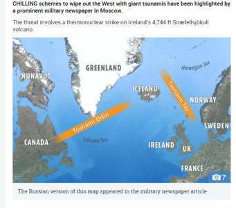 俄專家:核武炸火山引海嘯...摧毀華盛頓
