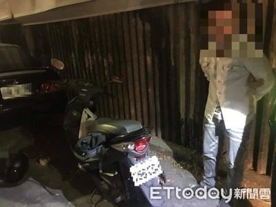 懷疑小鮮肉奪愛 笨男騎失竊車潛入房埋伏