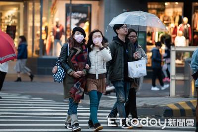 東北季風挾雨襲北!「連濕7天」低溫探15℃