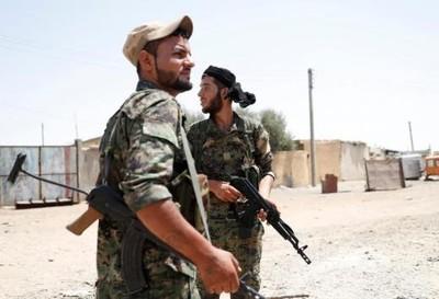 庫德族民兵投靠敘國!覺得遭美軍背叛