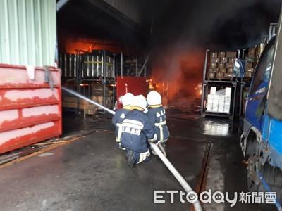 大林筍乾工廠火警 燃燒200多坪