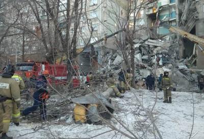 俄羅斯10層樓公寓氣爆 3死79人失聯