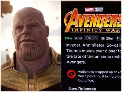 《復仇者》粉絲狂轟!Netflix「認錯」更新