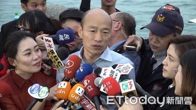 韓國瑜稱台灣鬼混20年 蘇貞昌回應