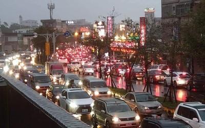宜蘭北上塞 擠交流道就花1小時