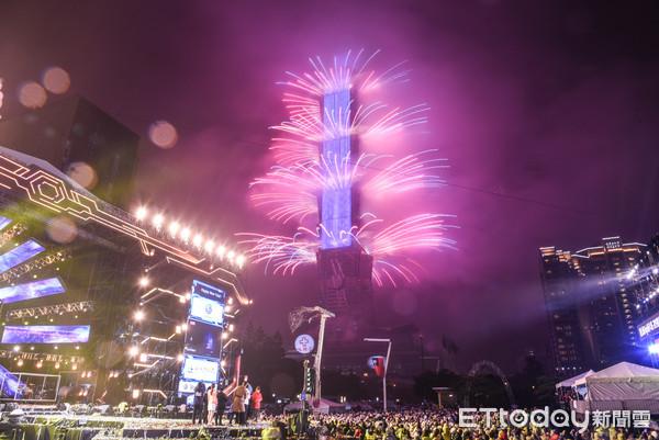 台北101上榜「全球十大跨年城市」 CNN讚:煙火秀是視覺盛宴
