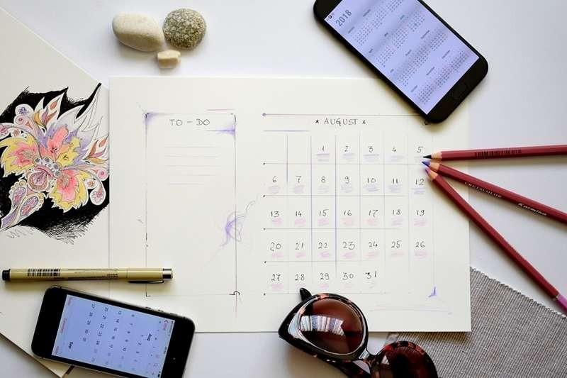 ▲月曆。(圖/取自免費圖庫pixabay)