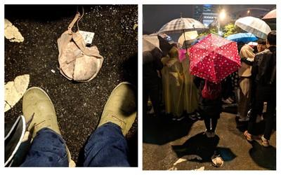 丟掉凶兆?台北跨年散場地上驚見「胸罩」