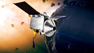 NASA太空船進入貝努小行星軌道