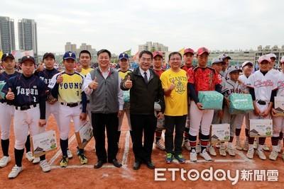 巨人盃國際青少年棒賽 開賽