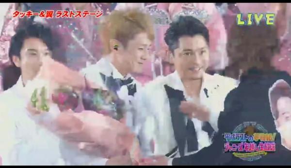 ▲▼「瀧&翼」瀧澤秀明、今井翼在傑尼斯跨年演唱會上,帶來最後一次演出。(圖/翻攝自推特)