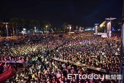 韓總跨年80萬人次被嗆膨風 市府回應