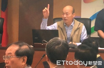高雄只求民生經濟發展 韓國瑜批小英管太多