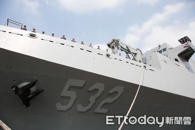 蔡英文:國艦國造帶動405億產值、8000工作