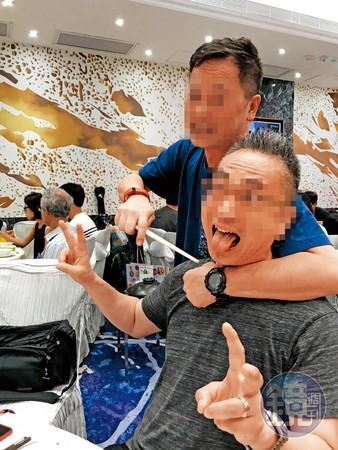 鴻海集團旗下富士康曾姓副總(Kenny)是香港人在集團內的最高主管,與員工相處融洽。(讀者提供)