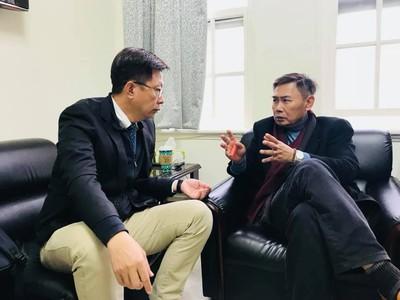 李俊毅退出角逐台南立委 郭國文親自拜訪請益