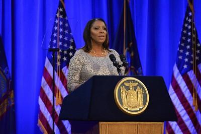 非裔女律師就任紐約總檢察長 曾痛批川普