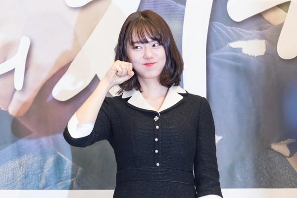 ▲▼金素慧新戲《最佳的炸雞》,粉絲送應援大米。(圖/KKTV提供)