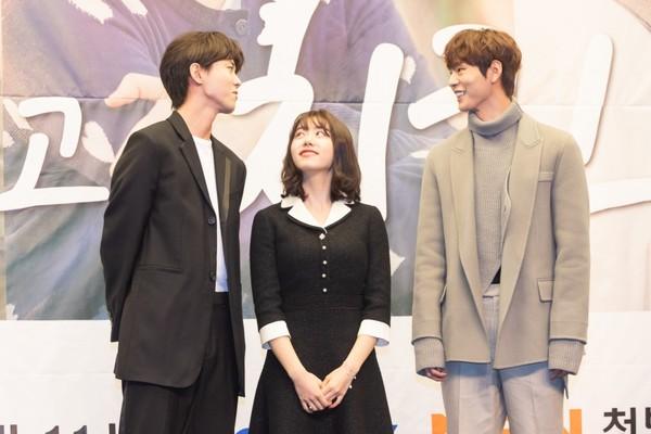 ▲▼《最佳的炸雞》(左起)朱宇宰、金素慧、朴宣浩。(圖/KKTV提供)