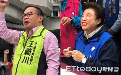 直播/中市立委補選 沈智慧支持度44.3%領先