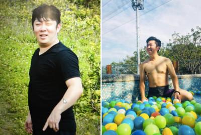 艾成激瘦「30公斤」網讚台版郭富城